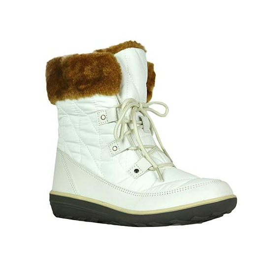 Refresh Hike-02 White Ankle Snow Boot