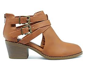 Soda Scribe-11s Tan Kids Ankle Boots