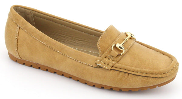 Nature Breeze Sasha-11 Tan Pu Mules