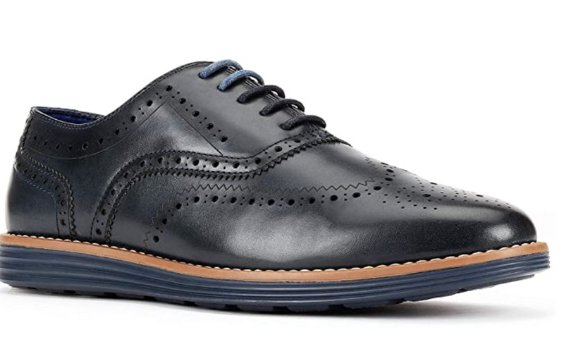 JXSN  Black 1905 Men's Casual Lace-up Dress Shoes