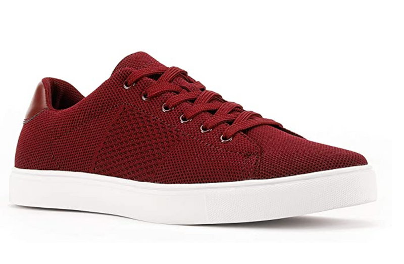 JXSN 2015 Burgundy Men's Classic Sneakers Casual