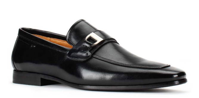 Santino Luciano 422 Black Toe Dress Shoes Classic Business