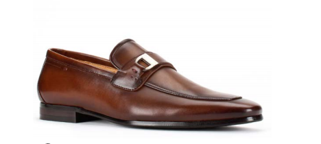 Santino Luciano 422 Cognac Toe Dress Shoes Classic Business