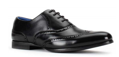 Santino Luciano Black 451 Men's Casual Lace-up Dress Shoes