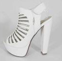 Speedlimit Manji-s Off White Dress Heel Sandal
