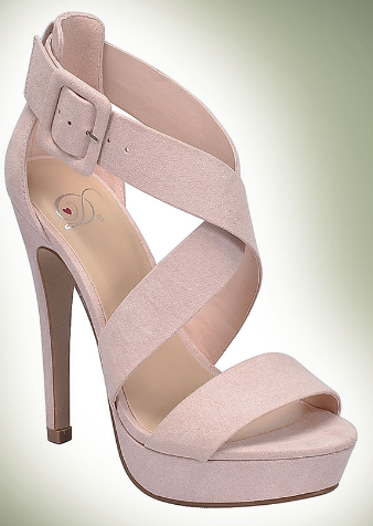 Delicious Summer Natural Wrap Around Heel