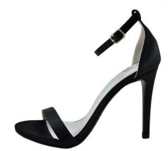 Delicious Jaiden-s Black One Strap Heel