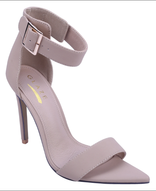 Glaze Borry-2 Nude Pointy heel