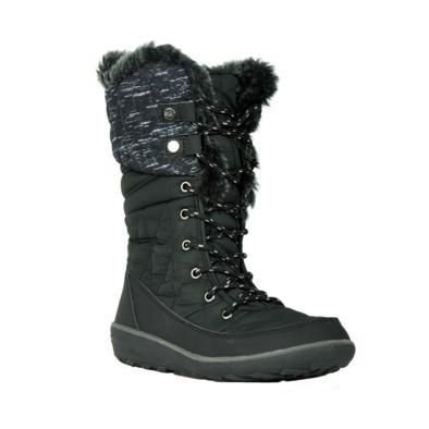 Refresh Hike-01 Black Knee HIgh Snow Boot