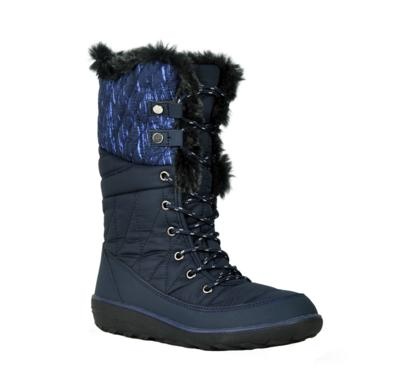 Refresh Hike-01 Navy Knee HIgh Snow Boot