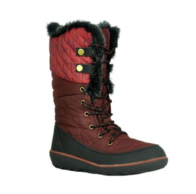 Refresh Hike-01 Wine Knee High Snow Boot