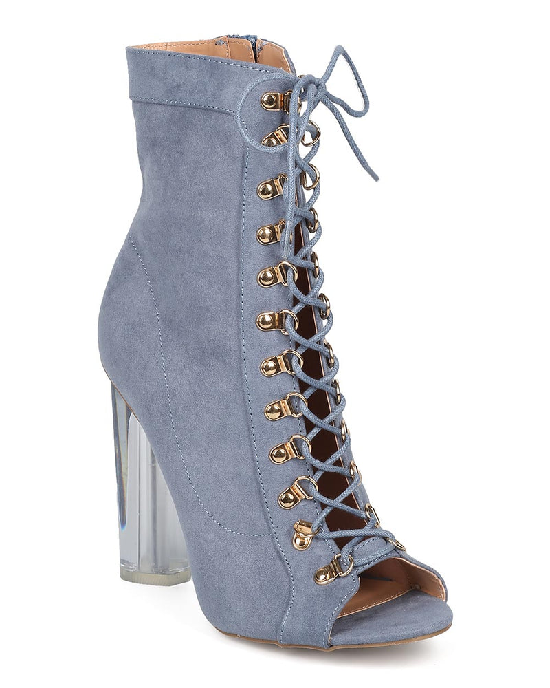 4ee072bb73 Wild Diva Mono-04 Blue Peep Toe Corset Lace Up – Manic Shoes