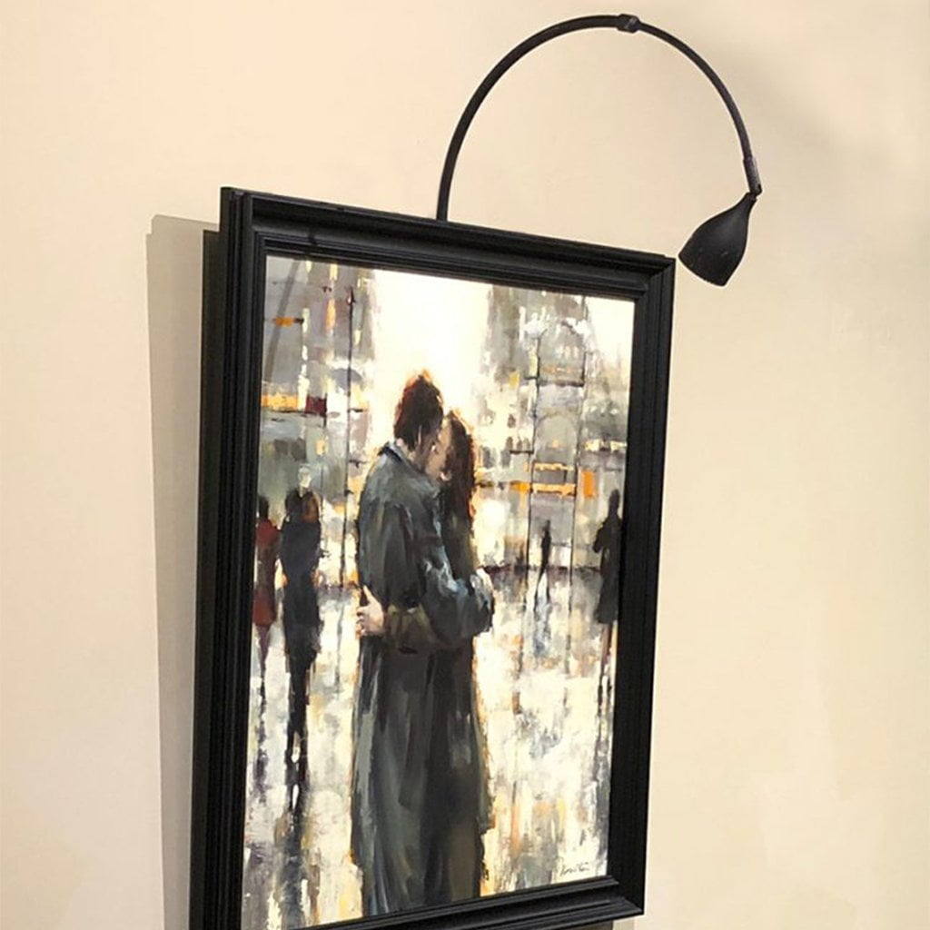 ML-FM Frame Mounted Picture Light - Perfect Art Lights