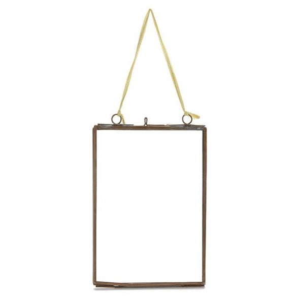 Kiko Glass Frame Brass in Portrait