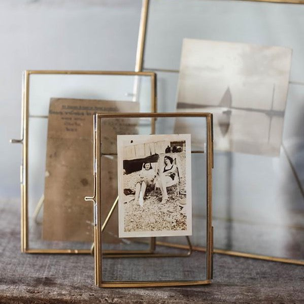 Danta Antique Brass Portrait Frames