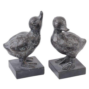 Gosling Resin Sculptures (Set of 2)