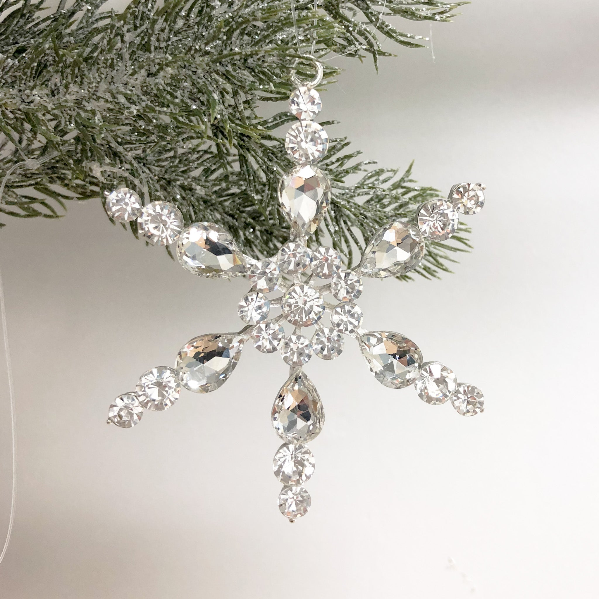 Silver Sparkle Snowflake (set of 3)