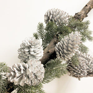 Bag of White Pine Cones (Set of 2)