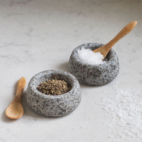 Salt and Pepper Pots - Granite