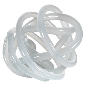 Opaque Glass Knot (Soft Grey)