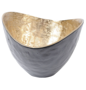 Dexter Gold and Black Bowl