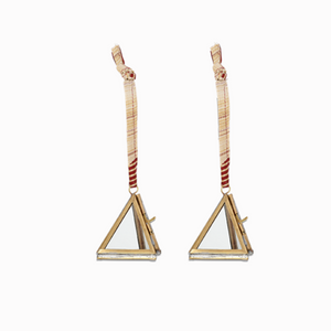 Tiny Kiko Triangular Hanging Decorations (Set of 2)