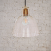 Bell Glass Pendant Light