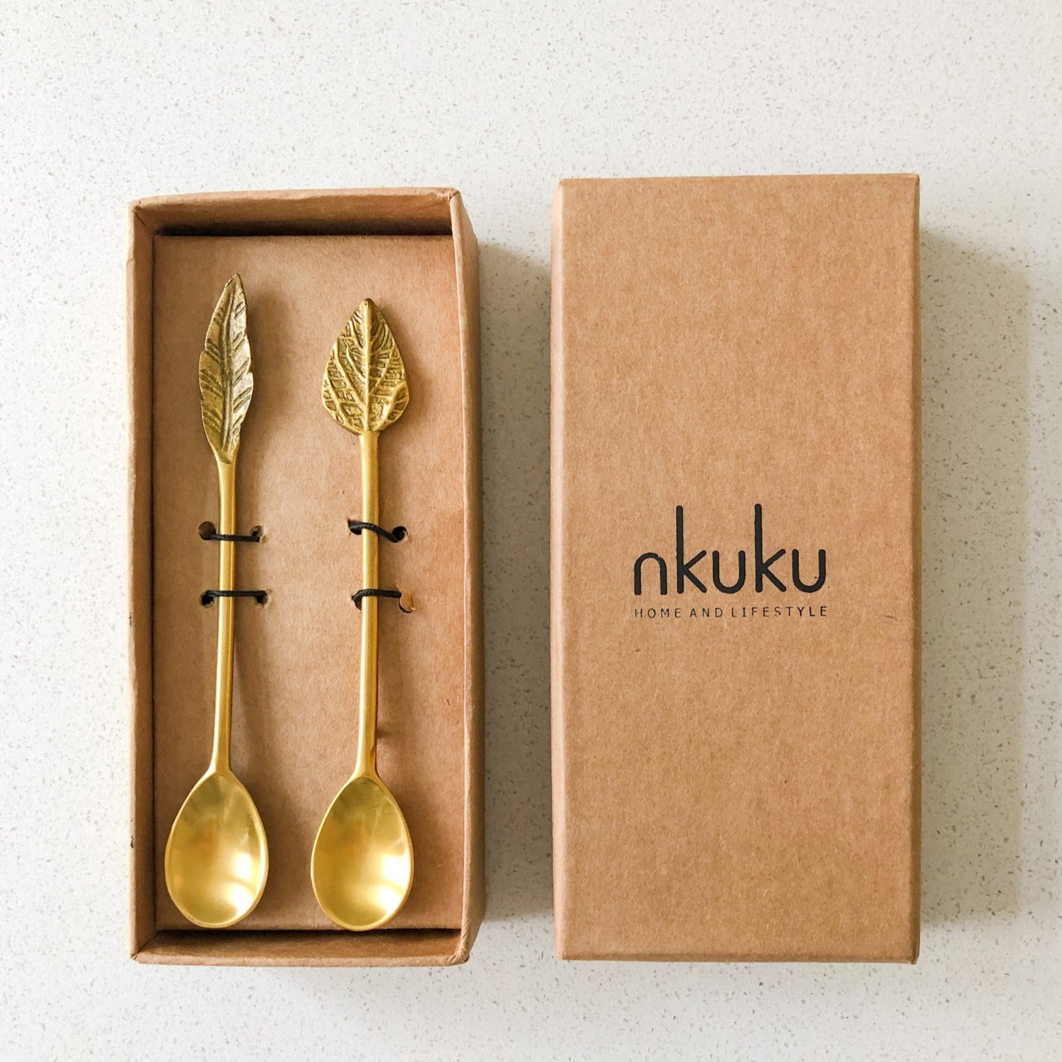Brass Spoons - Gift Boxed