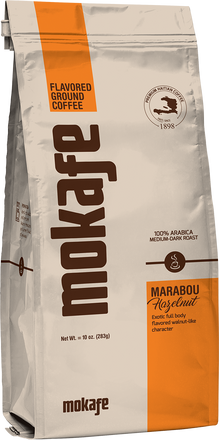 <p><em>Marabou</em> is a word of Haitian origin that denotes multiracial admixture. The nutty, buttery flavor of our Marabou Hazelnut celebrates the different ethnicities that make up post-colonial Haiti, and the smooth finish of this medium roast evokes the harmony that we all seek. The coffee's bright walnut tones and mellow taste evoke the joining together of different cultures in the best way possible.</p>