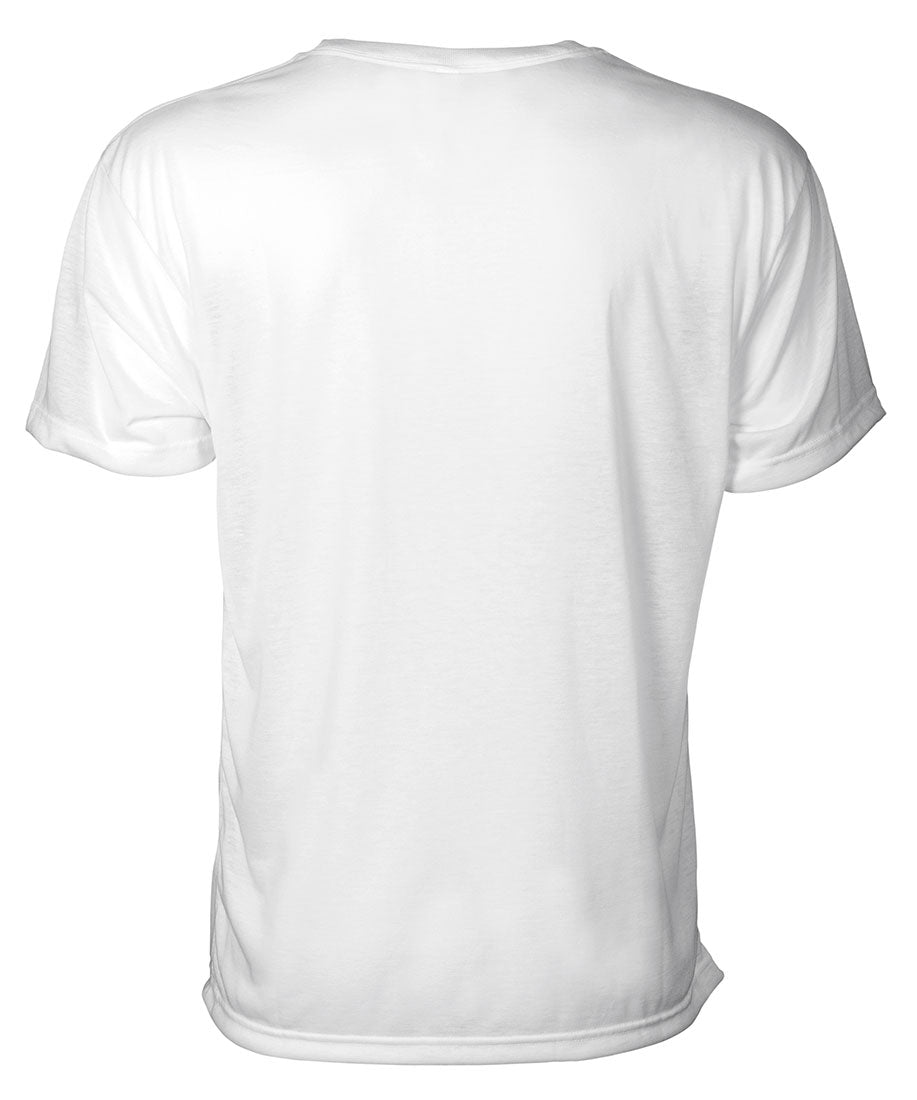 Front view of white 90 miles south camiseta shirt featuring 90MS graphic logo