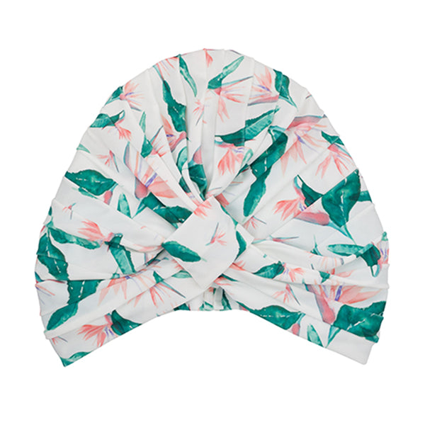 Amelie - Shower Turban - Hawaiian Bird of Paradise