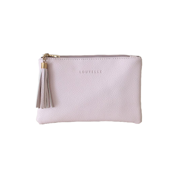 Heidi Clutch In Blush Pink