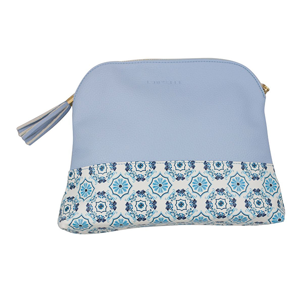 Gigi XL Case In Capri Blue Tiles