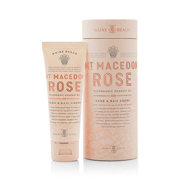 Hand & Nail Creme - Mt Macedon Rose