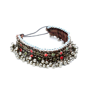 Rudlong Choker with Jingle Beads and Embellishments