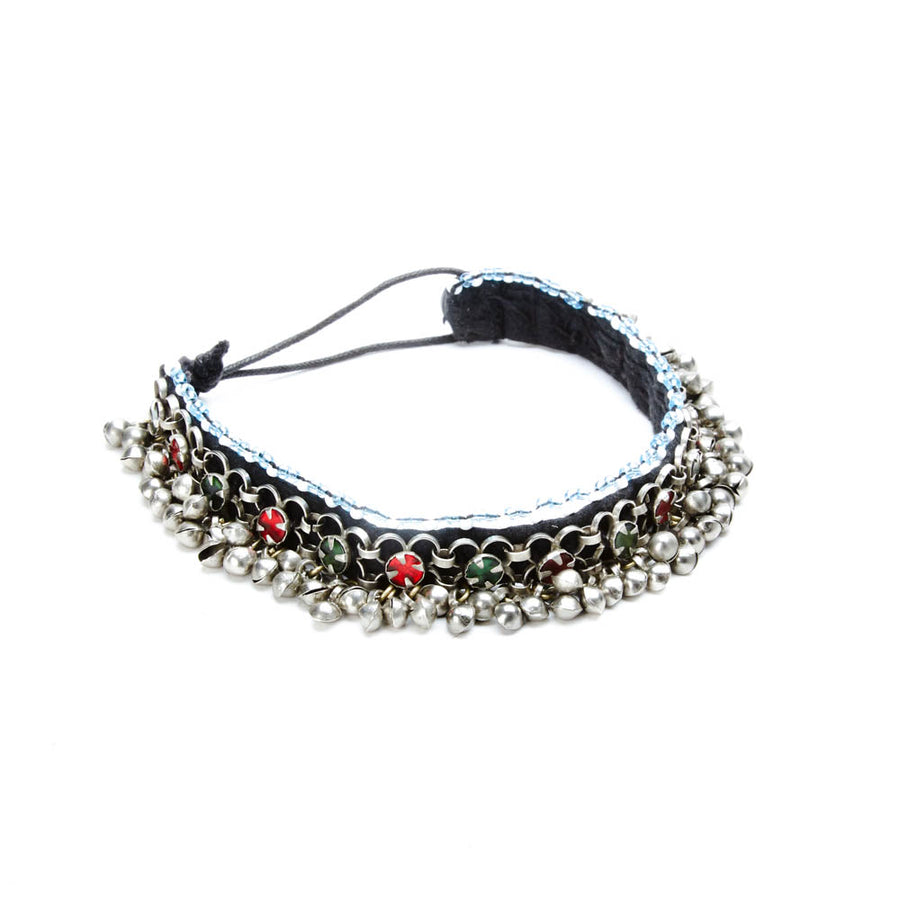 Faifan Small Choker with Jingle Beads and Stones