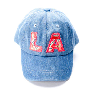 LA Textile Denim Dad Hat