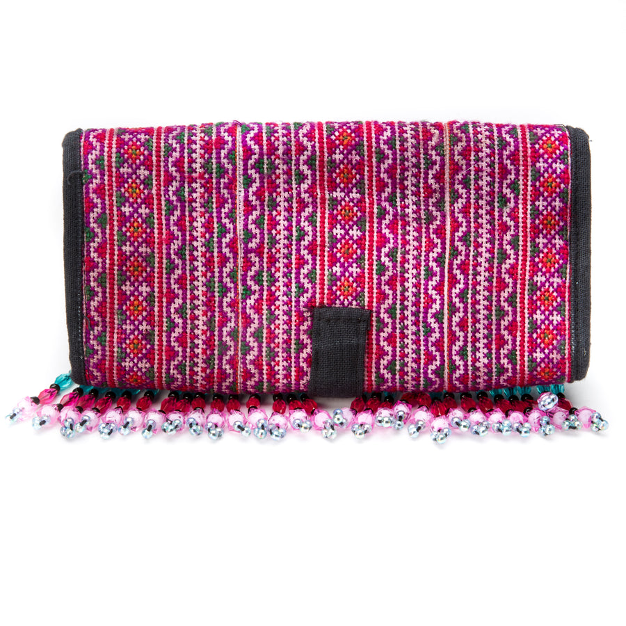 Supha Beaded Wallet