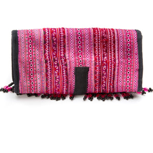 Kamon Beaded Wallet