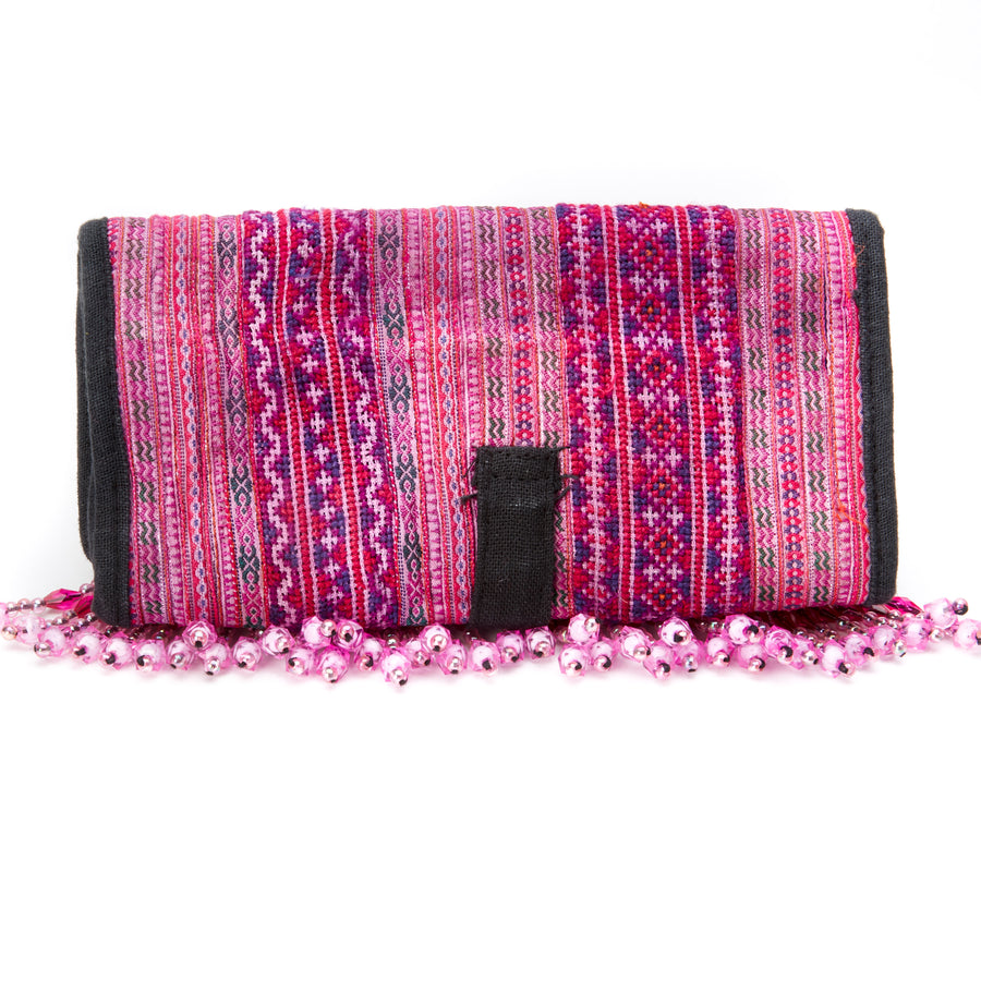 Khama Beaded Wallet