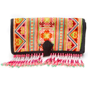 Mahasamud Beaded Wallet