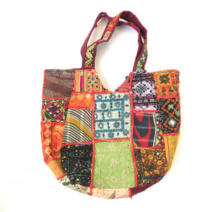 Hay Patchwork Bag