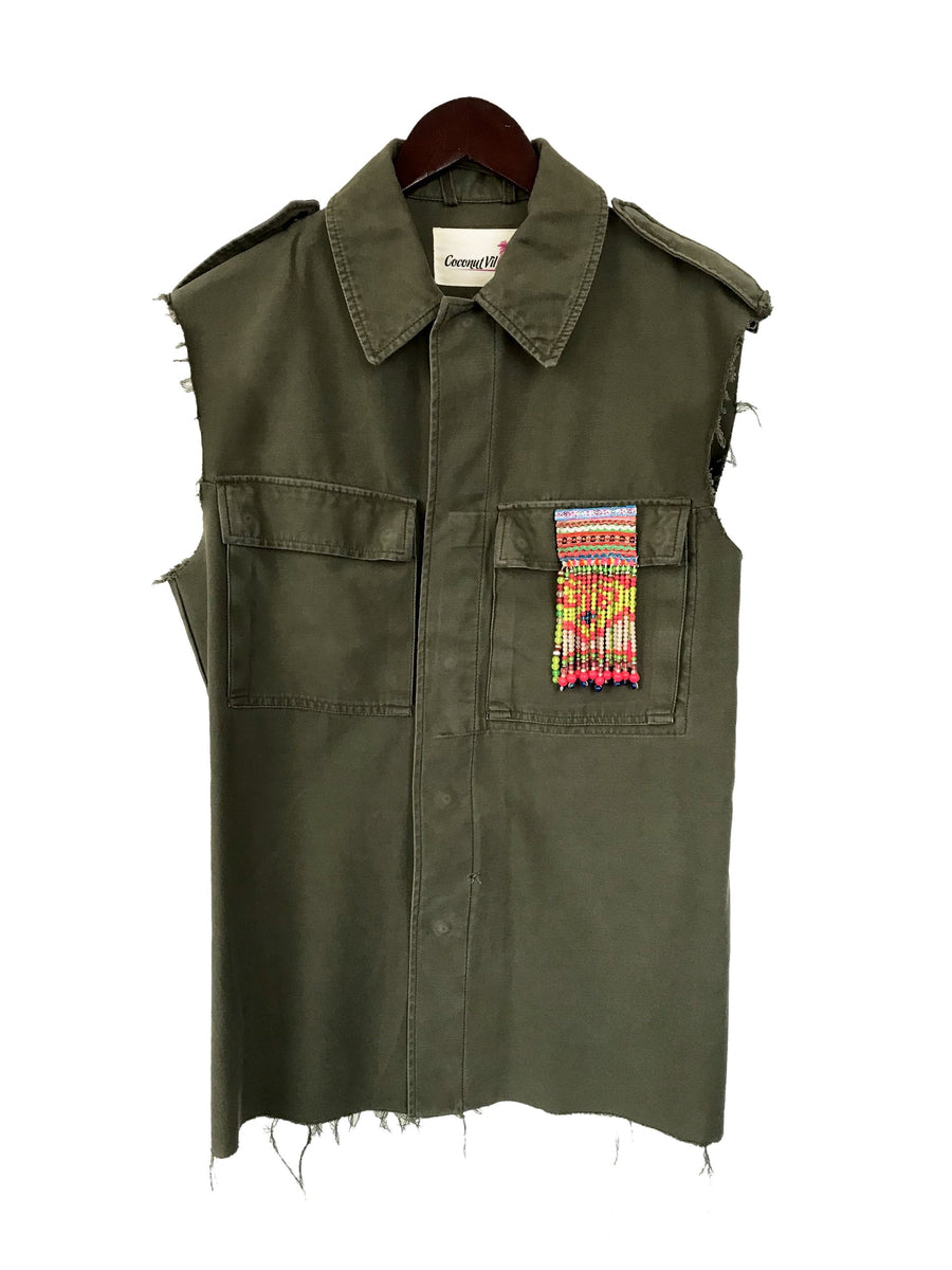 Krwd Army Vest