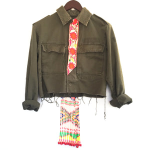 Lm Army Cropped Jacket