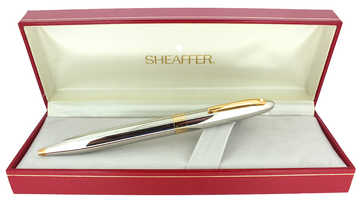C1992 SHEAFFER CREST PALLADIUM TWIST ACTION BALLPOINT PEN NEW OLD STOCK OFFERED BY ANTIQUE DIGGER