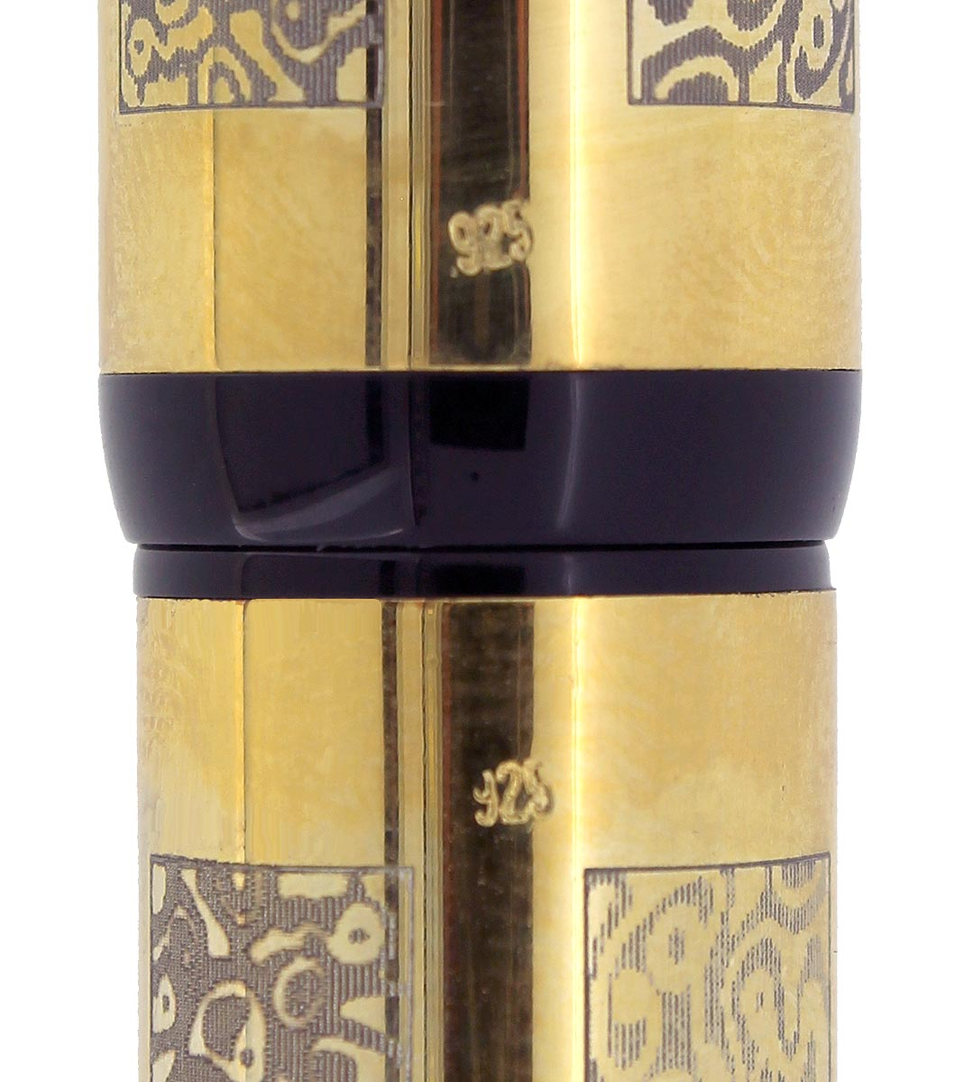 2008 BEXLEY OWNERS CLUB LIMITED EDITION 29/150 VERMEIL OVER STERLING FOUNTAIN PEN NOS NEVER INKED OFFERED BY ANTIQUE DIGGER