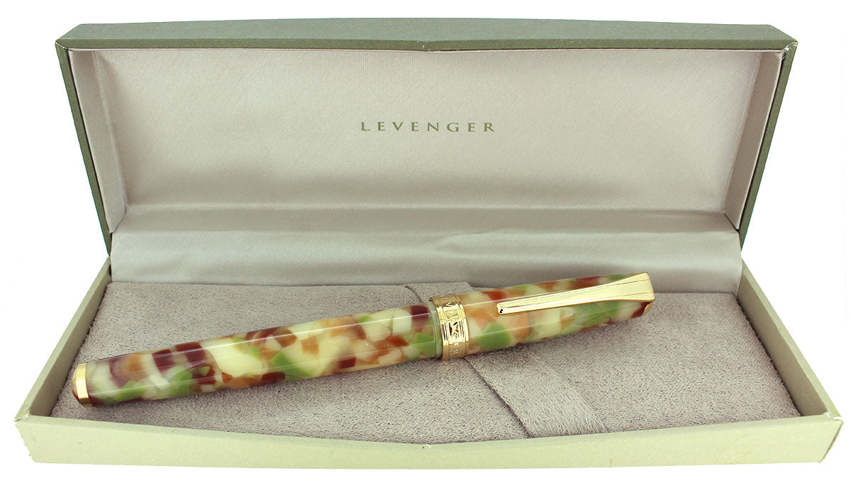 CIRCA 2012 LEVENGER TRUE WRITER FRENCH IMPRESSIONIST FOUNTAIN PEN NOS MINT IN BOX OFFERED BY ANTIQUE DIGGER