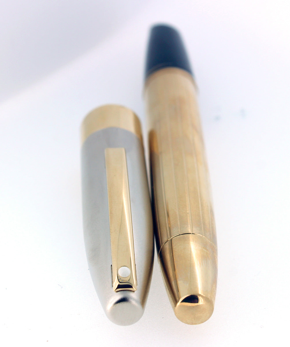 SHEAFFER LEGACY 2 FOUNTAIN PEN 18K FLEX STUB NIB CUSTOM ORDER MINT NEW OLD STOCK OFFERED BY ANTIQUE DIGGER