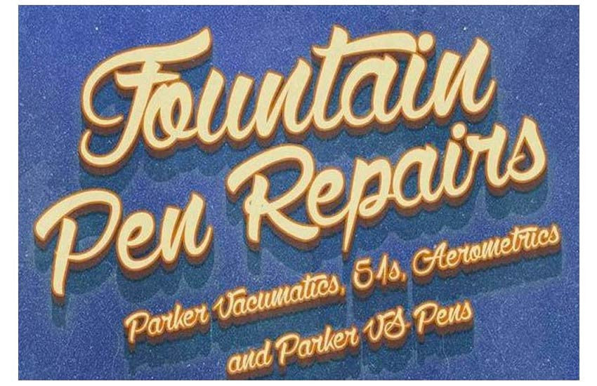 PARKER VACUMATIC, 51s, AEROMETRIC, VS FOUNTAIN PEN REPAIR