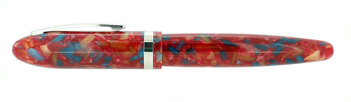 LABAN MENTO CELEBRATION RED MEDIUM NIB FOUNTAIN PEN MINT NEVER INKED NEW OLD STOCK OFFERED BY ANTIQUE DIGGER